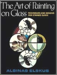 The Art of Painting on Glass : Cover